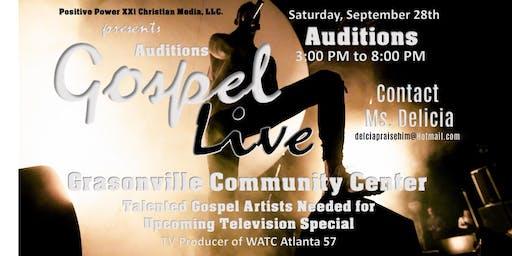 Gospel Live Music Showcase