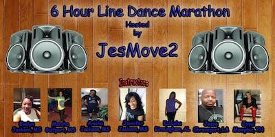 6 hour Line Dance Marathon Hosted by JesMove2