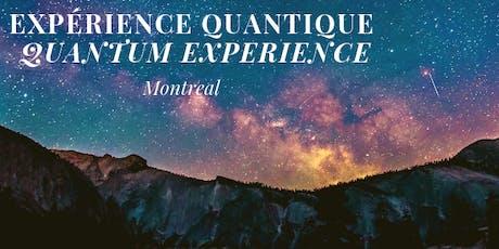Expérience Quantique / Quantum Experience tickets