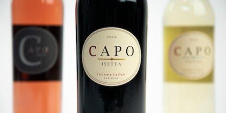 2019 Capo Isetta  Wine Release Party - NYC tickets