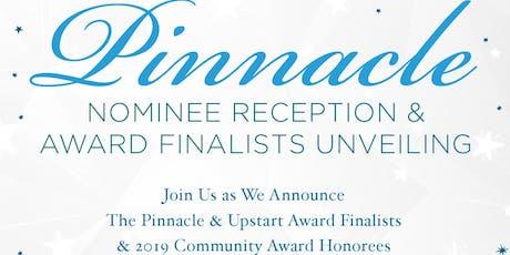 2019 Pinnacle Awards VIP Nominee Reception tickets