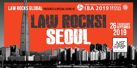 Law Rocks! Seoul at the 2019 Annual Conference of the IBA tickets