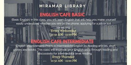 English Cafe - Basic & Intermediate  tickets