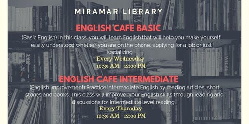 English Cafe - Basic & Intermediate