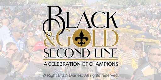 Black & Gold Second Line - Guinness World Records Official Attempt
