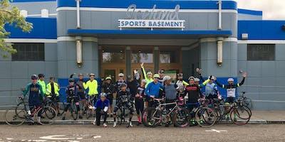 Berkeley Bike Club + Sports Basement Monthly Ride