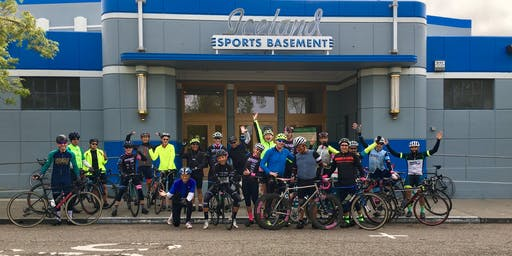 Berkeley Bike Club + Sports Basement Monthly Ride