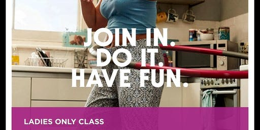 #Thisgirlcan Fit Got Real Beginners Fitness Class for Ladies