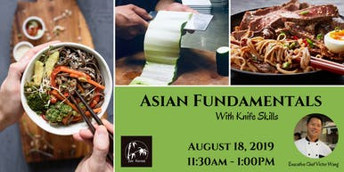 Cooking Class:  Asian Fundamentals With Knife Skills