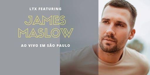 James Maslow ao vivo em São Paulo
