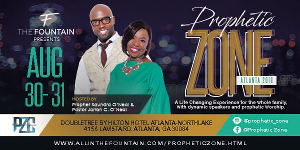 Prophetic Zone International- Atlanta Tickets, Multiple Dates