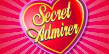 Secret Admirer Social for 40's & 50's Singles tickets
