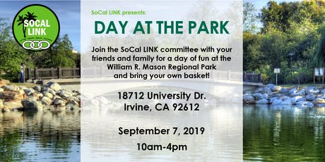 SoCal LINK: Day at the Park tickets
