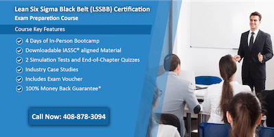 Lean Six Sigma Black Belt (LSSBB) Certification Training in Richmond, VA