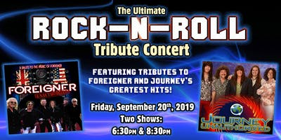 The Ultimate Rock-N-Roll Tribute Concert - First Showing