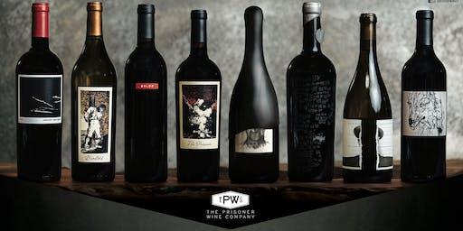 The Prisoner Wine Family Tasting
