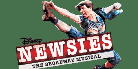 Newsies (Thursday 3/19, 7:00 p m ) Tickets, Thu, Mar 19