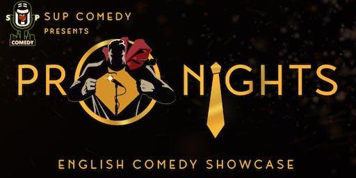 SUP Comedy's 'Pro Nights' Alex Pavone & Sammy Farid