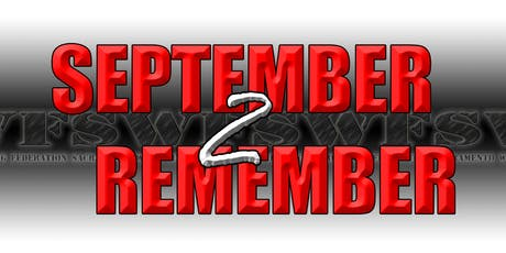 September 2 Remember tickets