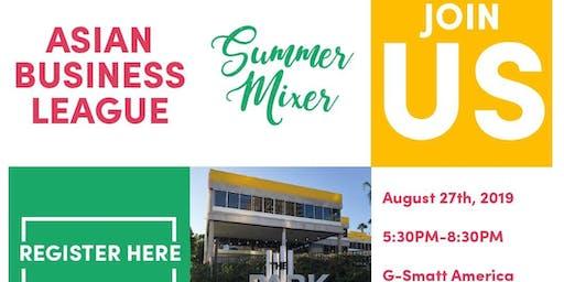Asian Business League Summer Mixer