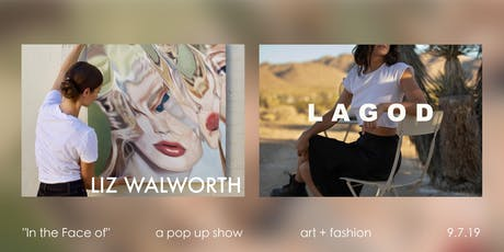 Art + Fashion Pop Up Show: In the Face of tickets