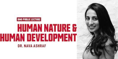 BMO Public Lecture with Dr. Nava Ashraf
