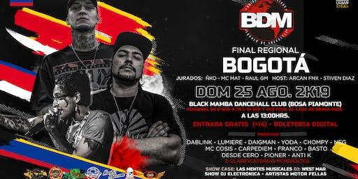 BDM FINAL REGIONAL BOGOTÁ