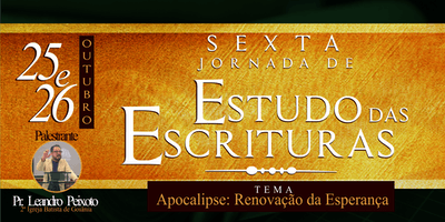 6ª Jornada de Estudo das Escrituras