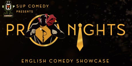 SUP Comedy's 'Pro Nights' Obie (Scotland) tickets