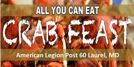 American Legion Annual October Crab Feast