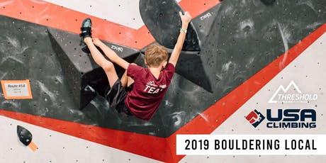 2019 USAC Bouldering Local tickets