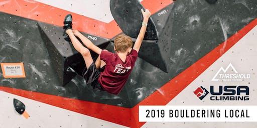 2019 USAC Bouldering Local