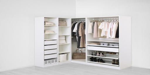PAX wardrobe system workshop