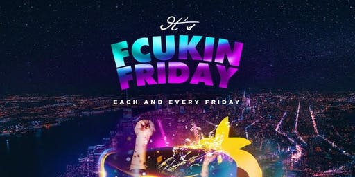 iTs FCUKIN FRIDAY | SOCA in MANHATTAN | FREE w/RSVP