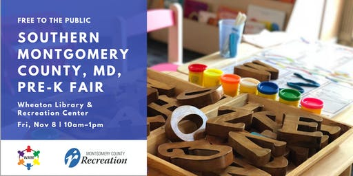 2019 Southern Montgomery County, MD, Preschool Fair