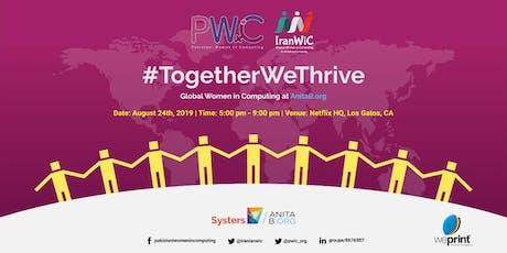 PWiC & IranWiC: #TogetherWeThrive ~ A Global Communities Meetup tickets
