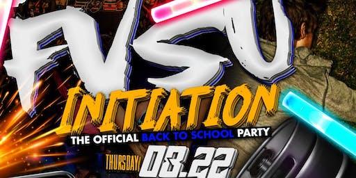 FVSU INITIATION X MGSU INITIATION BACK 2 SCHOOL PARTY‼️
