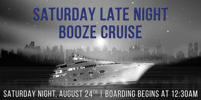Standby Tix for Sat. Late Night  Cruise on Aug. 24th on Spirit of Chicago