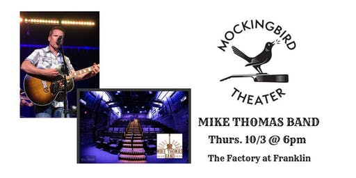 Live and Local featuring: Michael Thomas Band