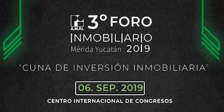 Foro Inmobiliario AMPI Mérida 2019 boletos