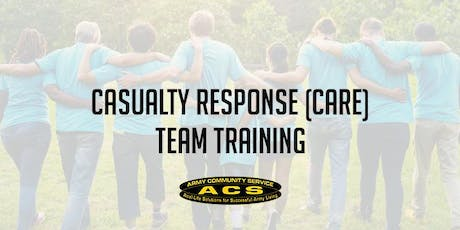 CAsualty REsponse (CARE) Team Training tickets