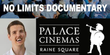 NO LIMITS DOCUMENTARY AT PALACE CINEMAS RAINE SQUARE tickets