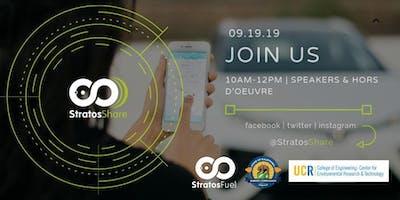 StratosShare I.E. Launch