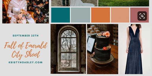 Fall of Emerald City Styled Wedding Shoot