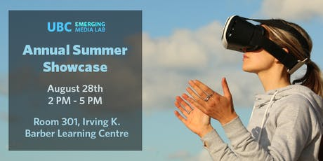 Emerging Media Lab Summer Showcase 2019 tickets