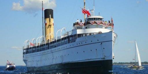 乘坐校巴 2019-8-17 唯一仅存的泰坦尼克号姐妹船+Wye Marsh自然保护区/Georgian Bay乘游三万岛+遐迩闻名的Wasaga Beach沙滩一日游