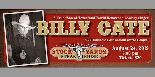Billy Cate LIVE!