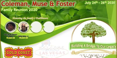 Coleman, Muse and Foster Family Reunion (RSVP) only