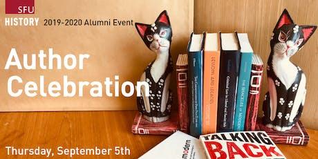 SFU History Author Celebration tickets