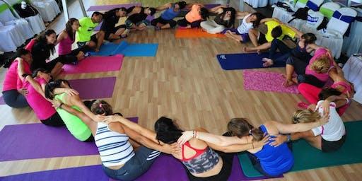 Bilingual Latin Yoga Practice